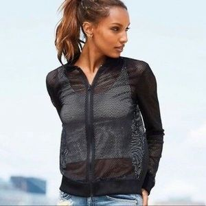 NEW Victoria's Secret Sport Mesh Jacket